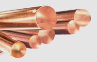 Copper Extruded Rod